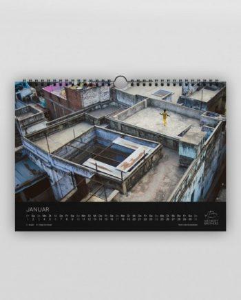 Weinert Brothers Indien Kalender 2016 Januar Bild Varanasi