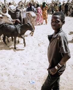 Postkarte – Weinert Brothers – Junge im Sahel