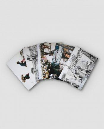 Postkarten - Weinert Brüder, 5er Pack