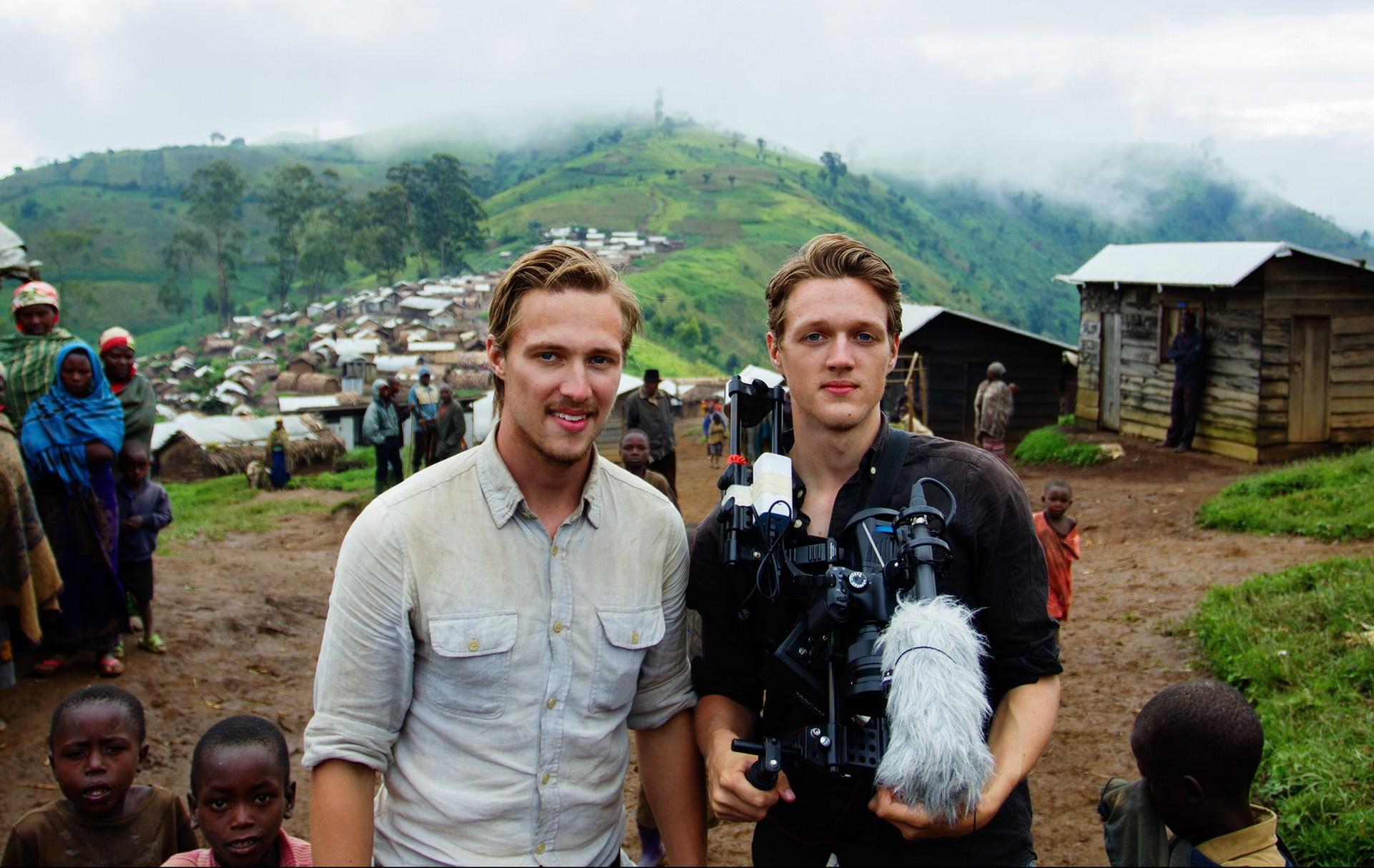 Dennis & Patrick Weinert in Mpati, DR Kongo, 2016
