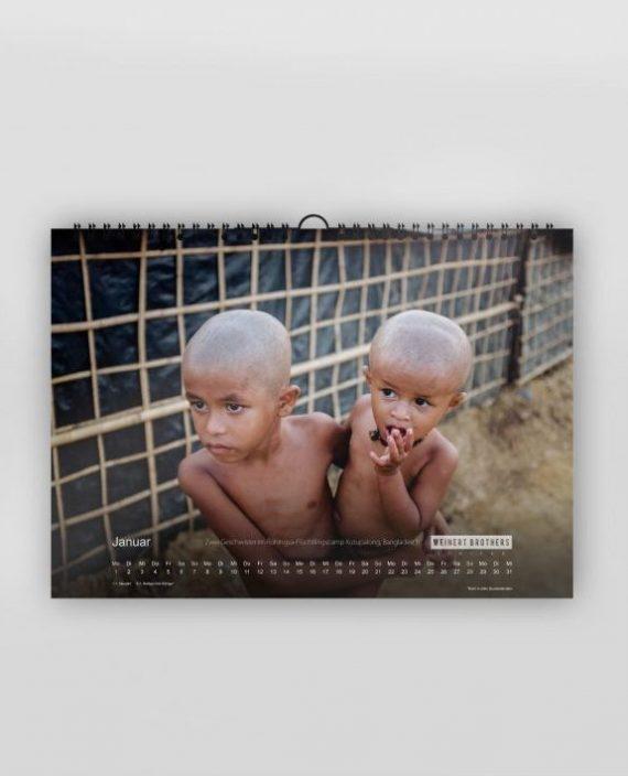 Weinert Brothers Kalender 2018 Januar