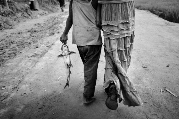Rohingya children in Bangladesh, 2017.