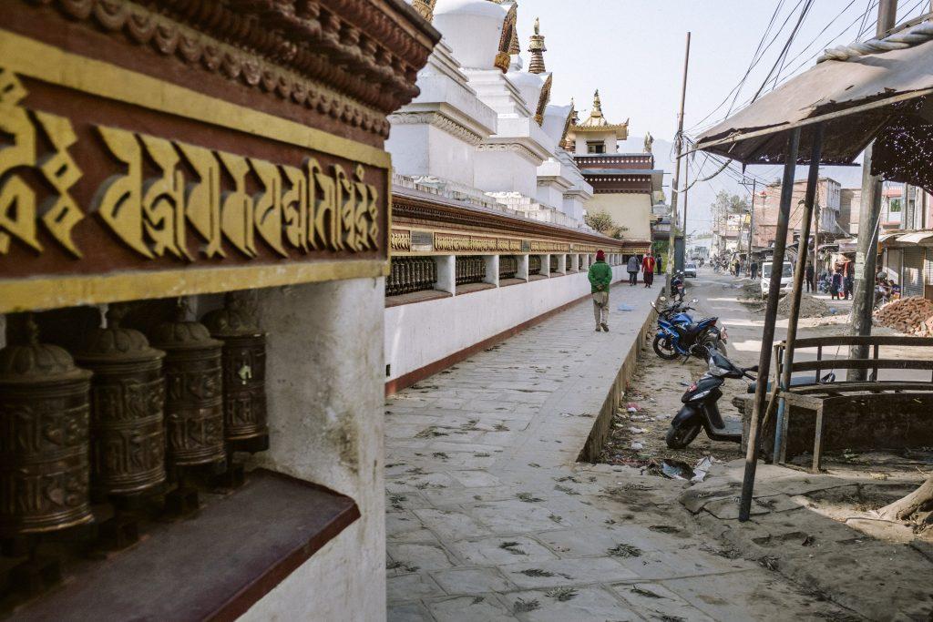 Swayombu in Kathmandu, Nepal, 2018