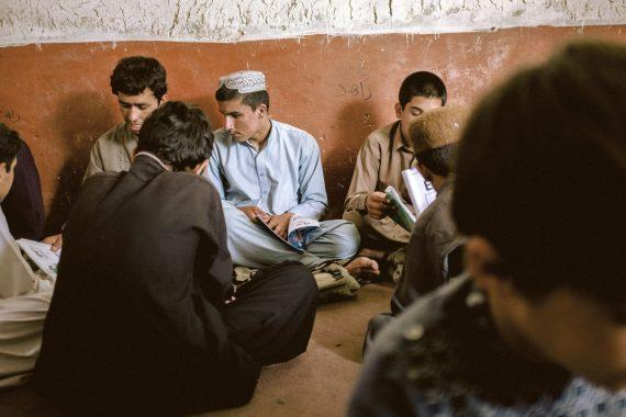 Schüler in Afghanistan, 2018