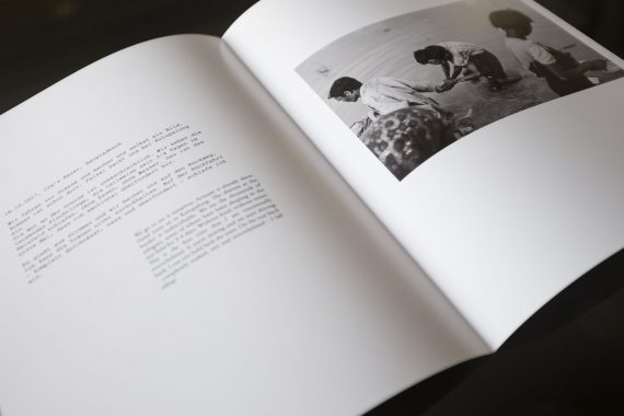 Sample Page 1 of our RESILIENZ photo book
