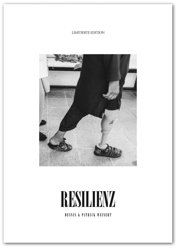 RESILIENZ-Bildband, Limited Edition, 80€